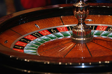 Image of a roulette wheel