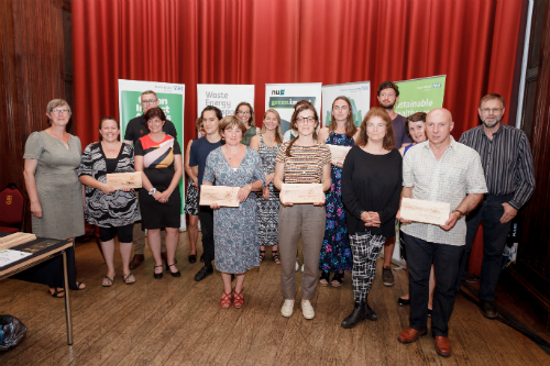 Winners of 2017 Green Impact Awards