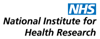 The logo for the National institute for health research.