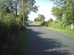 picture of the view when cycling from portishead to langford